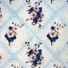 Клеёнка столовая на т/о Колорит 444/1 голубой