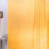 Арт.240 Штора д/ванн 3D 180х180 см Тайвань, оранжевый