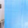 Арт.530 Штора д/ванн 3D 180х180 см Тайвань, синий