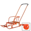 Санки Ника Тимка 5 Комфорт (с колесами) оранжевые