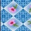Клеёнка столовая на т/о Колорит 924/1 голубой