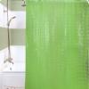 Арт.950 Штора д/ванн 3D 180х180 см Тайвань, зеленый