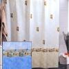 Штора для ванной комнаты т.м. Miranda ASTURIA голубой
