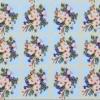Клеёнка столовая на т/о Колорит 132/1 голубой