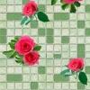 Клеёнка столовая на т/о Колорит 432/3 зеленый