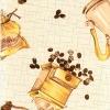 Клеёнка столовая на т/о Колорит 520/10 коричневый