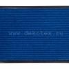 """ST_DL.50/80.BL Коврик придверный комбинированный HOMEMAT STANDART""""DL"""" 50х80 синий"""