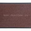 """ST_DL.50/80.BR Коврик придверный комбинированный HOMEMAT STANDART""""DL"""" 50х80 коричневый"""