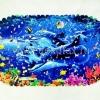"""Spa-коврик д/ванной Aqua-prime 36*67 cм """"Дельфины"""" Россия"""