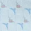Клеёнка столовая на н/о Колорит 042/1 голубой