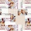 """067A Клеенка столовая на нетканой основе  """"DEKORAMA"""""""