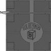 Коврик антивибрационный резиновый Белко-М RH 65х62 Не шуми!
