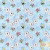 Клеёнка столовая на т/о Колорит 530/1 голубой