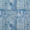 Клеёнка столовая на т/о Колорит 423/11 синий