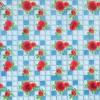 Клеёнка столовая на т/о Колорит 432/1 голубой