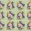 Клеёнка столовая на н/о Колорит 132/3 зеленый