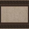 """Коврик из полипропилена с ПВХ подложкой придверный ТМ """"B'Home"""", 45х70 см арт.206w"""