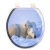 """Сиденье для унитаза с крышкой AQUA-PRIME """"BASE-Comfort"""" DIGITAL AQP.06.1051 (Турция) -"""