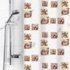 Шторы п/э для ванной 180х180 см РАКУШКИ БЕЛЫЕ