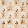 Клеёнка столовая на т/о Колорит 513/10 коричневый