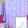 Штора для ванной комнаты т.м. Miranda COUNTRY FLOWER БЕЛЫЙ