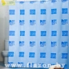 Штора для ванной комнаты т.м. Miranda LEAF голубой