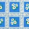 Клеёнка столовая на т/о Колорит 101/1 голубой