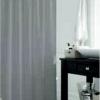 Штора в ванную комнату из 100% полиэстера без колец Jackline 180х200см 0010 COLORS GREY