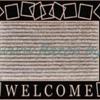 """Коврик из полипропилена с ПВХ подложкой придверный ТМ """"B'Home"""", 40х80 см арт.802w"""
